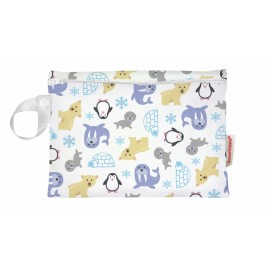Imse Vimse Mini Wet Bag 20x15cm With Zipper  Snowland