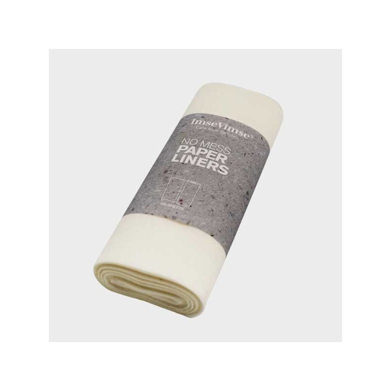 Imse Vimse Paper Liners 1 roll/100 sheets