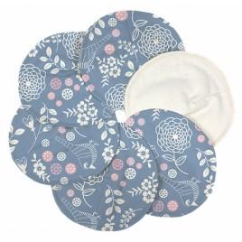 Imse Vimse Nursing Pads Organic Cotton Garden