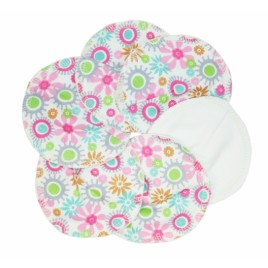 Imse Vimse Nursing Pads Organic Cotton Flowers