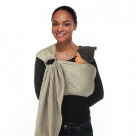 Babylonia BB sling Padded warm taupe