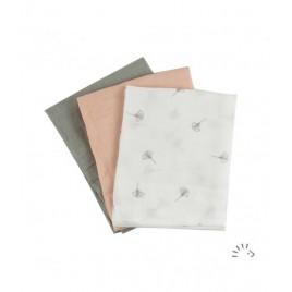 Iobio Muslins Organic Cotton 70 x 70 soft ginko
