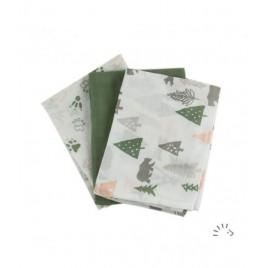 Iobio Muslins Organic Cotton 70 x 70 camping day