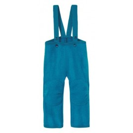 Disana Blue Boiled Wool Trousers