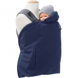 Mamalila Babywearing Cover Softshell- vario navy-ice