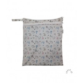 Popolini Woodland  Nappy Baf with mesh Pocket '20 Woodland
