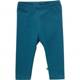 Green Cotton Alfa Leggings Baby dream teal