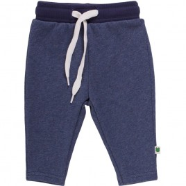 Green Cotton Denim Sweatpants slim Baby denim