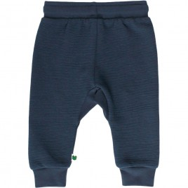 Green Cotton Ottoman Pants Baby midnight