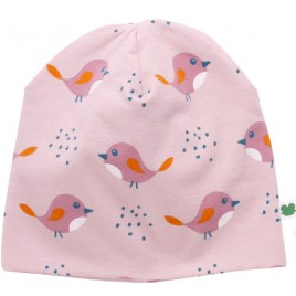 Green Cotton Bird  Beanie Rose