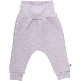 Green Cotton Fox Sweatpants grey melange