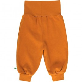 Green Cotton Alfa Pants curry