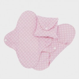 Imse Vimse Sanitary Pads Slim Regular Pink Halo