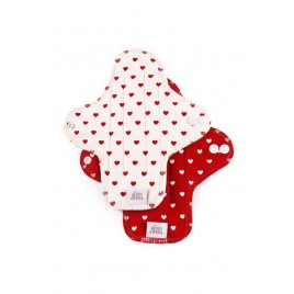 Ella's House Moon Pads Midi Hearts 2 pcs