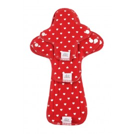 Ella's House Moon Pads Trial Hearts  Red