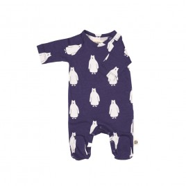 Onnolulu Jumpsuit Otto with Feet Polarbear