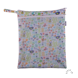 Popolini Garden Tues Nappy Baf with mesh Pocket '20