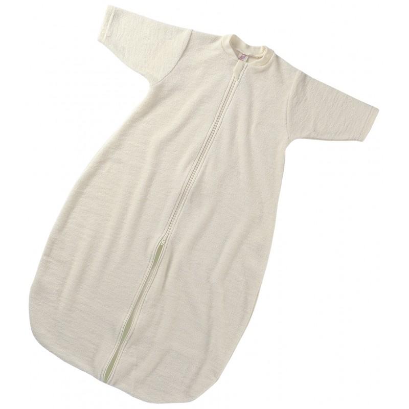 Engel Baby-Slafsack mit Reissverschluss natur
