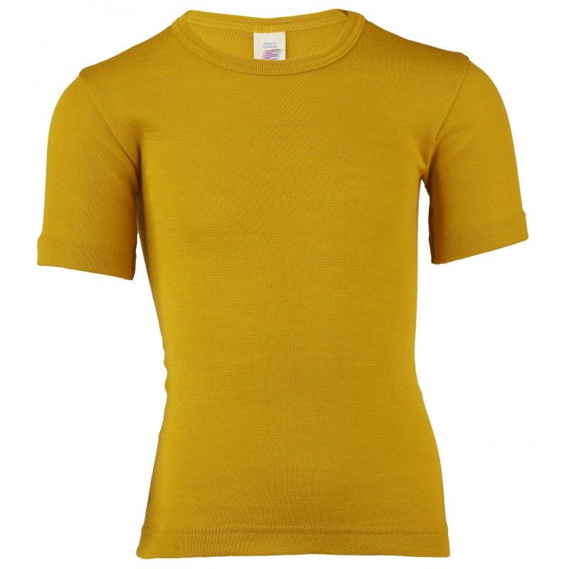 Engel Children's Shirt short sleeved Saffron