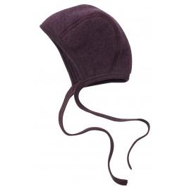 Engel Baby Bonnet Fleece Lilac melange