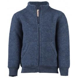 Engel Children's  Zip Jacket Blue melange