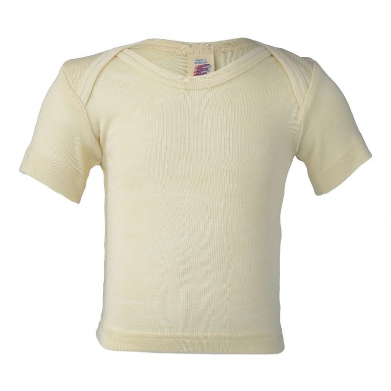 Engel Envelope-neck Vest Short Sleeved Natur