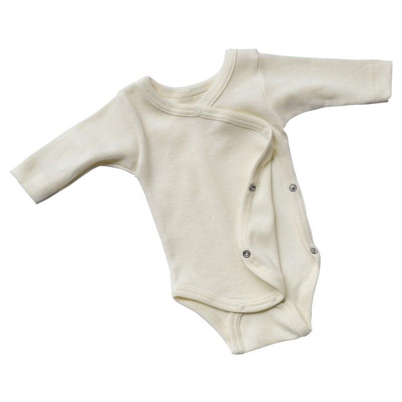 Engel Baby-Body Long Sleeved Natur