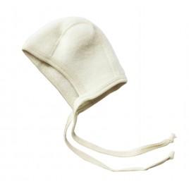 Engel Baby-Bonnet Fleece Natur