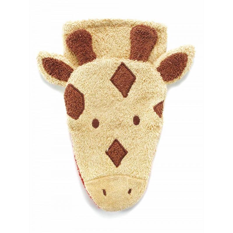 Fürnis Wasch-Handschuh Giraffe  Klein