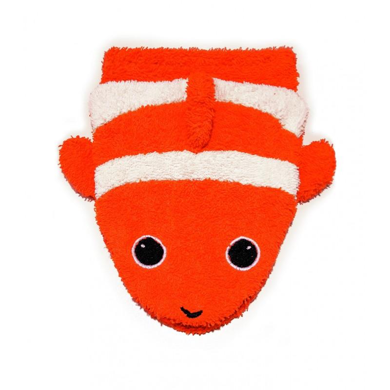 Fürnis Wasch-Handschuh Clownfish  Klein