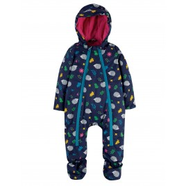 Frugi Explorer Waterproof All In One Suit Hedgehogs