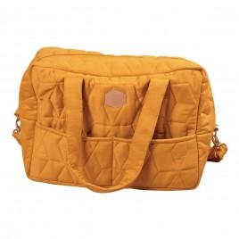 Filibabba Nursery Bag Soft quilt  Golden mustard