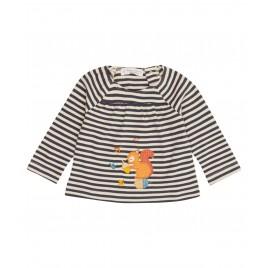 Sense Organics Adsila Baby Shirt L/S Navy beige