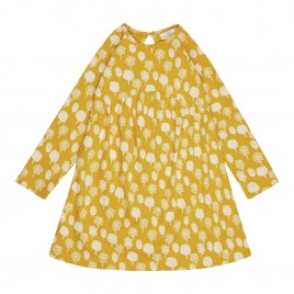 Sense Organics Anni Baby Dress Trees