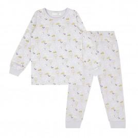 Sense Organics Long John Retro Pyjama Hedgehogs