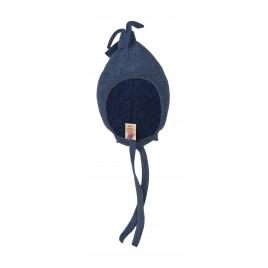 Engel Baby-Hat, Fleece blue mélange