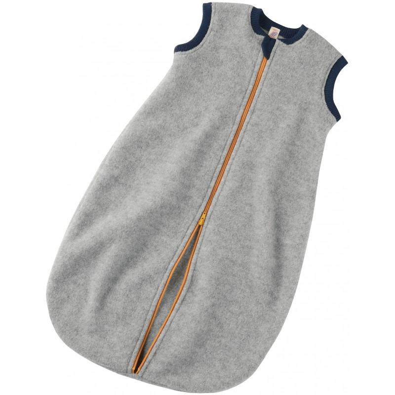 Engel Baby-Sleeping Bag  Long sleeved light grey mélange