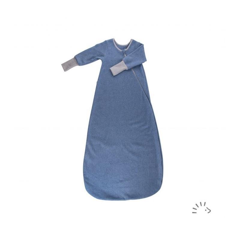 Iobio Sleeping Bag Cotton Fleece blueberry melange