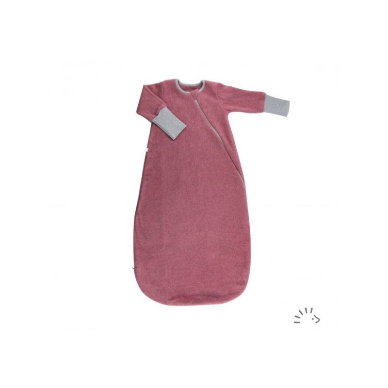 Iobio Sleeping Bag Cotton Fleece raspberry melange