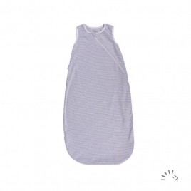 Iobio Sleeping Bag Sleeveless grey-écru