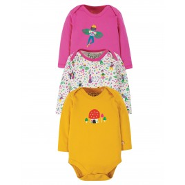 Frugi Super Special 3 pack Body fairy