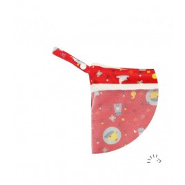 Popolini Nappy Bag with mesh Pocket '20 Birdy Red