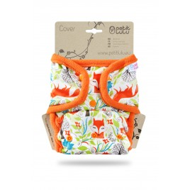 Petit Lulu One Size Cover (Snaps) Foxes