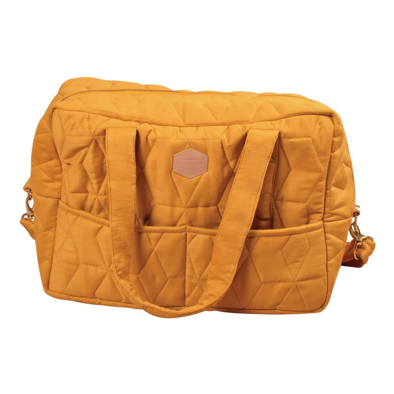 Filibabba Mommy  Bag Soft quilt  Golden mustard