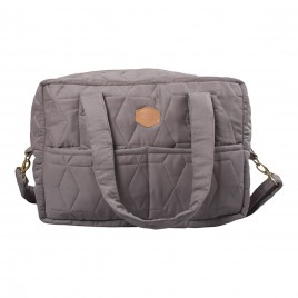 Filibabba Mommy  Bag Soft quilt  Dark Grey