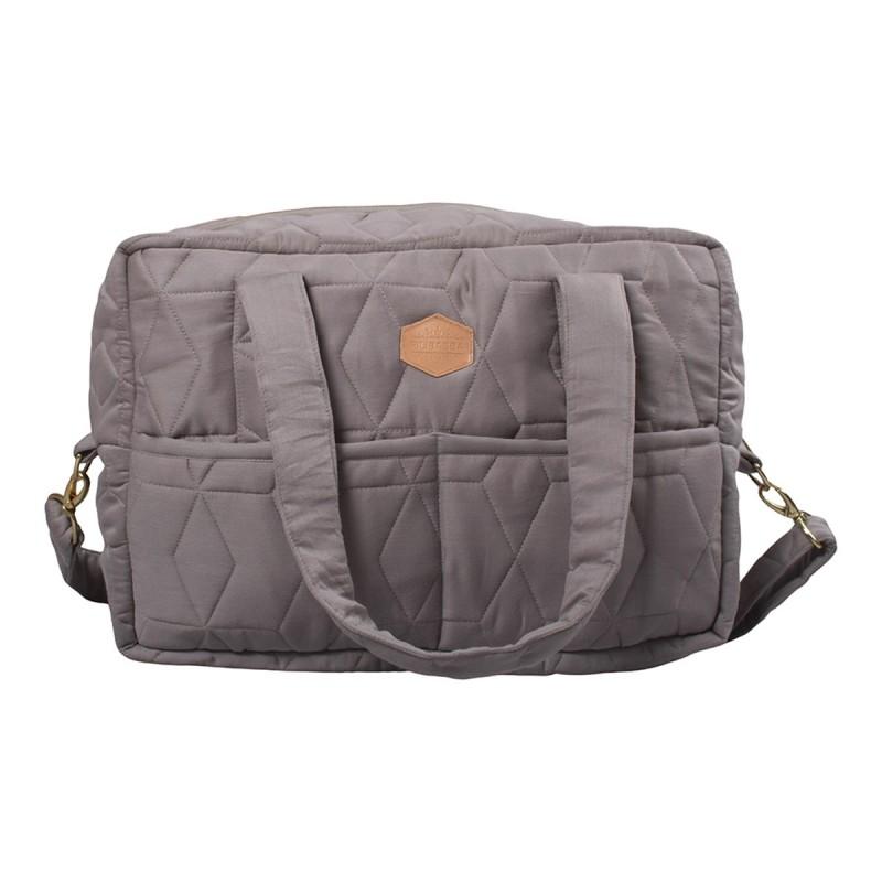 Filibabba Mommy  Bag Soft quilt  Dark Grey