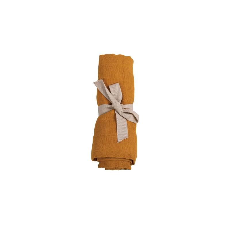 Filibabba Muslin Diaper Golden Mustard