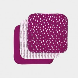 Imse Vimse Reusable Wipes/10 Sangria