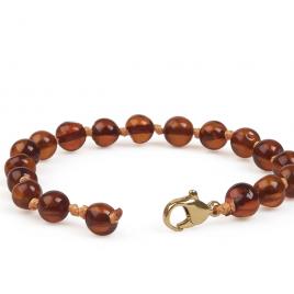 Grün Specht Amber Wrist/Ankle Chain Cognac