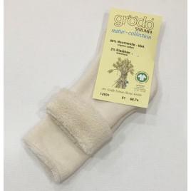 Grödo Babysöckchen-Vollfrottee rohweiss